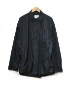 stein(シュタイン)の古着「Oversized Wind Shirt」|ブラック