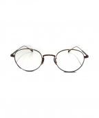 EYEVAN(アイヴァン)の古着「眼鏡」 ブラウン