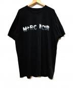 M+RC NOIR(マルシェノア)の古着「ロゴTシャツ」|ブラック
