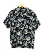 SCHOTT BROS.(ショットブロス)の古着「アロハシャツ」|ネイビー