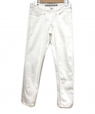 Denham (デンハム) RAZOR ASW/スリムデニムパンツ ホワイト サイズ:W30 L32