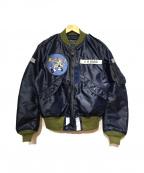 TOYS MCCOY(トイズマッコイ)の古着「L-2Aフライトジャケット」|ネイビー