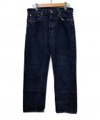 RESOLUTE(リゾルト)の古着「ワンウォッシュ711デニムパンツ」|インディゴ