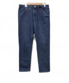 THE NORTHFACE PURPLELABEL(ザノースフェイス パープルレーベル)の古着「Webbing Belt Denim Pants」|インディゴ