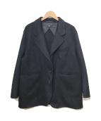 ()の古着「カシミヤブレンドオーバ-サイズジャケット」|ネイビー