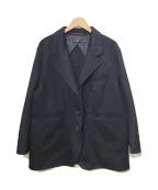 +J(プラス ジェイ)の古着「カシミヤブレンドオーバ-サイズジャケット」|ネイビー