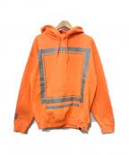 EIVIRA(エルヴィラ)の古着「プルオーバーパーカー」 オレンジ