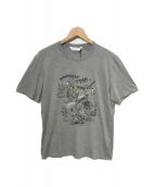()の古着「プリントTシャツ」|グレー