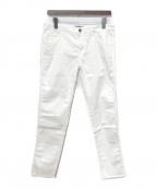 REPLAY(リプレイ)の古着「スリムフィットデニムパンツ」|ホワイト