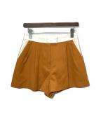 3.1 phillip lim(スリーワンフィリップリム)の古着「ショートパンツ」|ブラウン