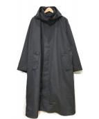 ()の古着「LIGHT COAT/ライトコート」 ブラック