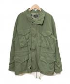 BEAMS PLUS(ビームスプラス)の古着「M65ジャケット」|オリーブ