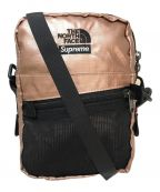 SUPREME×THE NORTH FACE()の古着「メタリックショルダーバッグ」|ピンク×ゴールド