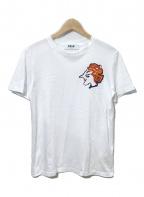 MSGM(エムエスジーエム)の古着「刺繍Tシャツ」 ホワイト