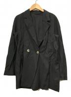BALLSEY(ボールジィー)の古着「ダブルジャケット」|ブラック