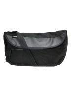 CHROME(クローム)の古着「ナイロンメッセンジャーバッグ」|ブラック