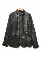 ALL SAINTS(オールセインツ)の古着「AXEL BLAZER / ライダースジャケット」|ブラック