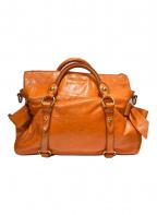 MIU MIU(ミュウミュウ)の古着「ハンドバッグ」|オレンジ