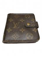 LOUIS VUITTON(ルイ ヴィトン)の古着「2つ折り財布」 ブラウン