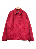 BURBERRY LONDON(バーバリー ロンドン)の古着「キルティングジャケット」 レッド