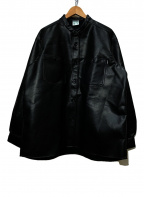 big mac(ビッグマック)の古着「フェイクレザージャケット」|ブラック
