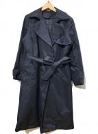 ()の古着「ライナー付コート」|ネイビー