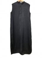 ()の古着「ノースリーブワンピース」|ブラック