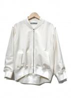 ()の古着「ジップブルゾン」|ホワイト