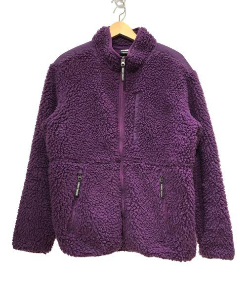 FIRST DOWN(ファーストダウン)FIRST DOWN (ファーストダウン) フリースジャケット パープル サイズ:SIZE Mの古着・服飾アイテム