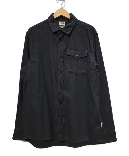 THE NORTH FACE(ザ ノース フェイス)THE NORTH FACE (ザ ノース フェイス) コットンシャツ グレー サイズ:SIZE Mの古着・服飾アイテム