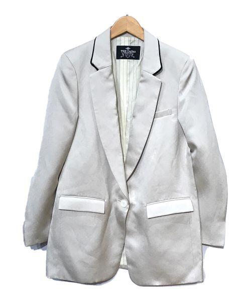 THE Dallas(ザ・ダラス)THE Dallas (ザ・ダラス) テーラードジャケット グレー サイズ:SIZ. 2の古着・服飾アイテム