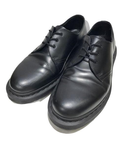 Dr.Martens(ドクターマーチン)Dr.Martens (ドクターマーチン) 3ホールシューズ ブラック サイズ:UK7の古着・服飾アイテム