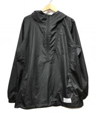 uniform experiment (ユニフォームエクスペリメント) HALF ZIP ANORAK ブラック サイズ:3
