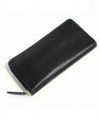 peppercorn(ペッペルコルム)の古着「カーフレザーラウンドファスナー財布」