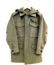 AURALEE×Ron Herman(オーラリー×ロンハーマン)の古着「フーデットM65ジャケット」 オリーブ