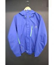 HAGLOFS(ホグロフス)の古着「マウンテンパーカー」 ブルー×グリーン