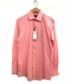 BURBERRY BLACK LABEL(バーバリーブラックレーベル)の古着「ワンポイント刺繍ドレスシャツ」