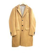 TK TAKEO KIKUCHI(ティーケー タケオキクチ)の古着「ROSSAチェスターコート」 ベージュ