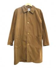 DANTON(ダントン)の古着「ロングコート」 ベージュ