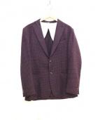 FUGATO(フガート)の古着「テーラードジャケット」 レッド