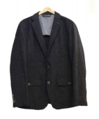 HUGO BOSS(ヒューゴボス)の古着「アンコンジャケット」|ネイビー