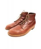ALDEN(オールデン)の古着「ショートブーツ」|ブラウン