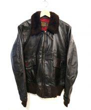 AVIREX(アヴィレックス)の古着「G-1ジャケット」 ブラウン