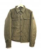 HUNTING WORLD(ハンティングワールド)の古着「キルティングジャケット」|カーキ