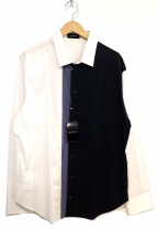 EMPORIO ARMANI(エンポリオアルマーニ)の古着「カラーブロックシャツ」