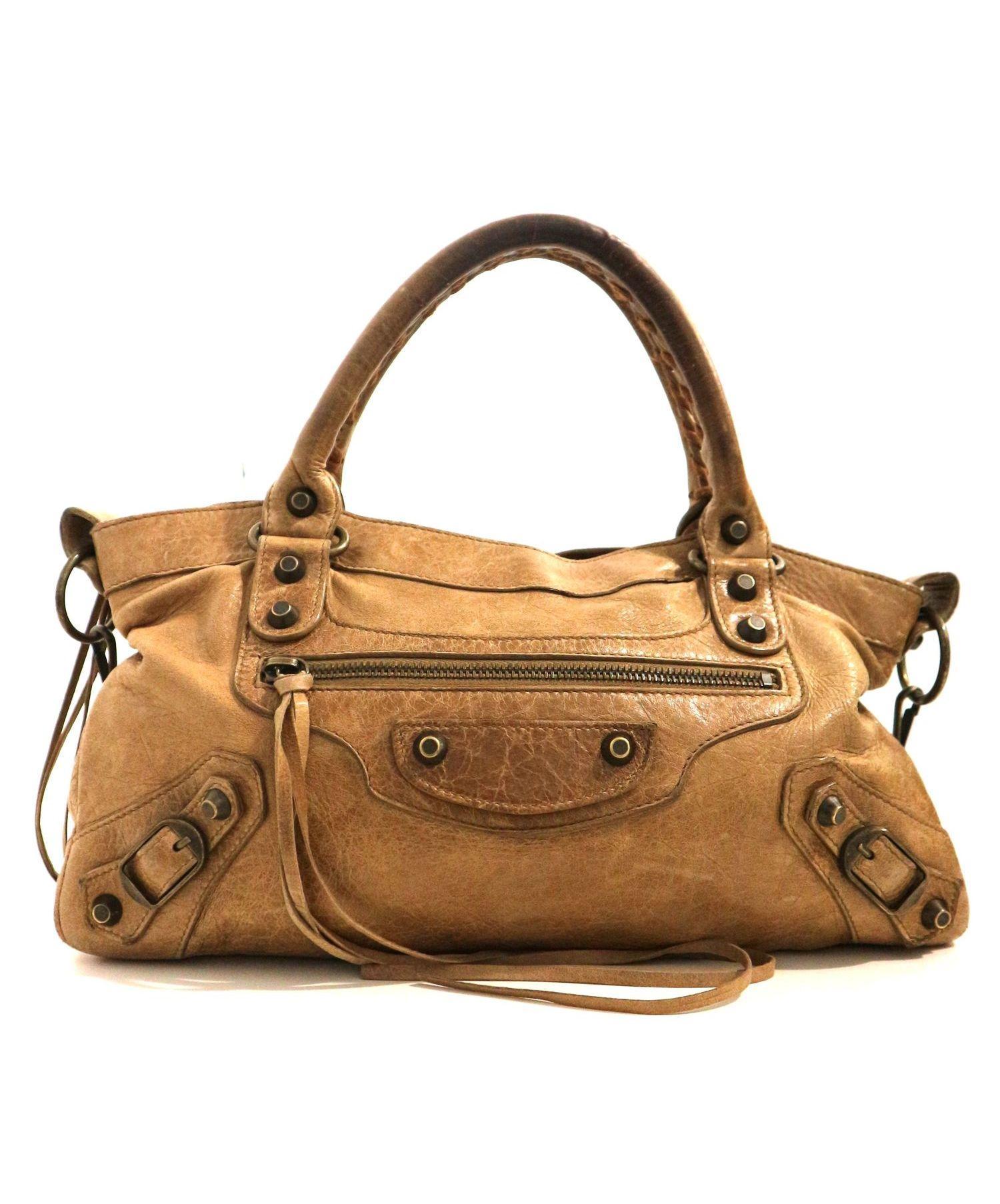 low priced 5e546 ff148 [中古]BALENCIAGA(バレンシアガ)のレディース バッグ エディターズバッグ