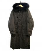 SLY(スライ)の古着「サイドジップフーデッドコート」