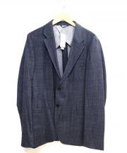 LACOSTE(ラコステ)の古着「ウールブロードクロスジャケット」|ブルー