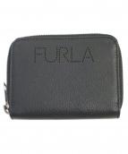 FURLA(フルラ)の古着「ユリッセバイフォールドウォレット」|ブラック