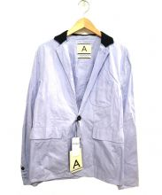 ANDREA POMPILIO(アンドレアポンピリオ)の古着「デザイン2Bジャケット」|スカイブルー